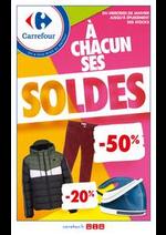 Promos et remises Carrefour : Tabloïd Soldes