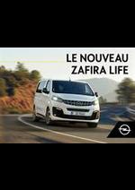Prospectus opel : Opel Zafira Life