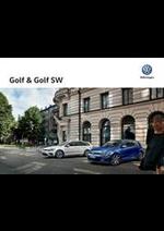 Promos et remises  : Volkswagen Golf & Golf Sw