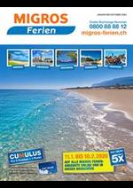 Prospectus Migros Supermarché : Migros Ferien 2020