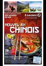 Prospectus E.Leclerc : Nouvel an chinois