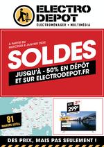 Promos et remises ELECTRO DEPOT : SOLDES