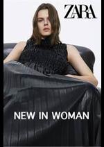 Prospectus ZARA : NEW IN WOMAN