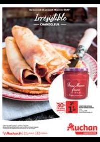 Prospectus Auchan Supermarché Paris 12 Reuilly : Irrésistible Chandeleur