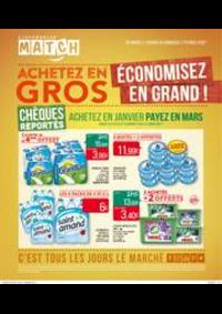 Prospectus Supermarchés Match Huningue : Achetez en gros, économisez en grand !