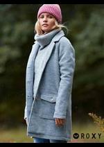 Prospectus Roxy : Vestes & Manteaux Femme