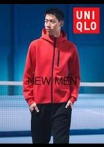 Catalogues et collections Uniqlo : New Men