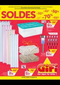Prospectus Gifi VILLEMOMBLE : Soldes Gifi