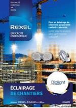 Prospectus Rexel : Eclairage de chantiers