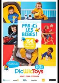 Prospectus Picwic MAUREPAS : Par ici les bébés!