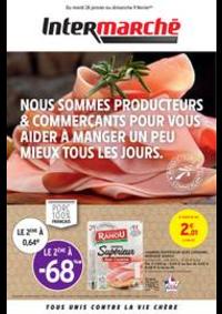 Prospectus Intermarché Super Chilly Mazarin : PRODUCTEURS & COMMERÇANTS