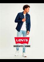 Prospectus Levi's : Nouveautés / Homme