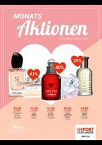 Prospectus Import Parfumerie : Monats Aktionen