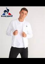 Prospectus Le Coq Sportif : Tendances Homme