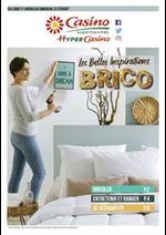 Prospectus Supermarchés Casino : Les Belles Inspirations BRICO