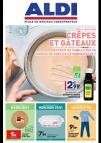 Prospectus Aldi Asnières-sur-Seine : Crêpes et Gâteaux