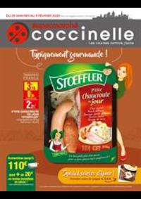 Prospectus Coccinelle Supermarché PARIS : Typiquement gourmande!