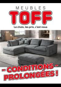Promos et remises Meubles Toff : Conditions prolongées !