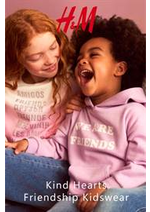 Catalogues et collections H&M : Kind Hearts Friendship Kidswear