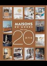 Prospectus Maisons du Monde : Catalogue Maisons du Monde