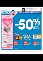 Promos et remises Leader Price : -50% sur le 1er ou le 2ème produit.
