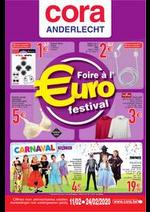 Prospectus Cora : Foire à l'euro 11-02