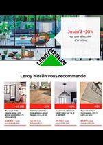 Prospectus Leroy Merlin : Lançons vos projects
