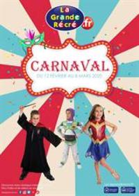 Prospectus La grande Récré PARIS 7-11 boulevard Barbès : Carnaval