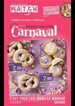 Prospectus Match : Régalez-vous c'est Carnaval
