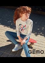 Catalogues et collections Gemo : Nouveautés Fille