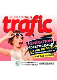 Prospectus Trafic Barvaux : Offres Destockage