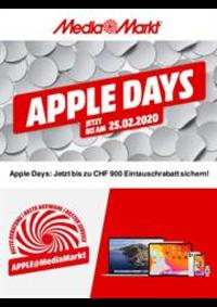 Bons Plans Media Markt Bern  : Apple Days!