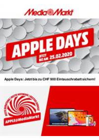 Bons Plans Media Markt Bern  : Apple Days!