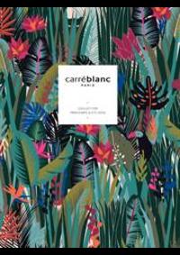 Prospectus Carré blanc Paris BOURGES : Printemps été 2020