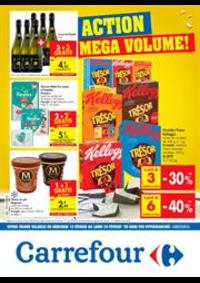 Prospectus Carrefour Express AUDERGHEM : Action Mega Volumen