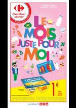 Prospectus Carrefour Market : Le mois juste pour moi
