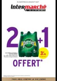 Prospectus Intermarché Super Pont du Chateau : 2 + 1 OFFERT