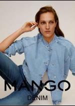Catalogues et collections MANGO : Denim