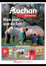 Prospectus Auchan Supermarché : Bien plus que du lait !