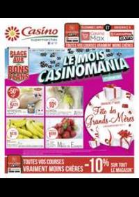 Prospectus Supermarchés Casino TOULON : Le mois Casinomania
