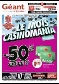 Prospectus Géant Casino BOISSY SAINT LÉGER : Le mois Casinomania