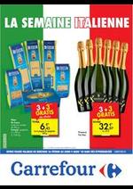 Promos et remises  : folder Carrefour