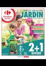 Prospectus Carrefour Market : Après l'hiver, embellissez votre jardin