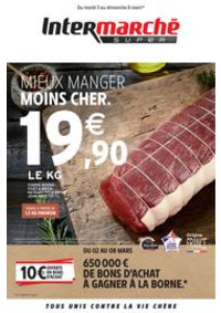Prospectus Intermarché Super Mehun-sur-Yevres : MIEUX MANGER MOINS CHER.
