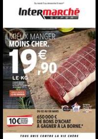 Prospectus Intermarché Super Vireux Molhain : MIEUX MANGER MOINS CHER.