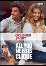 Prospectus Ochsner Sport : All you need is Clique