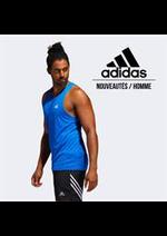 Prospectus Adidas : Nouveautés / Homme