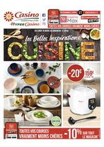Prospectus Supermarchés Casino : Les belles inspirations cuisine
