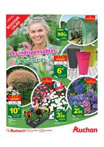 Prospectus Auchan : Les indispensables du printemps