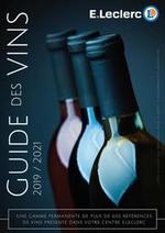 Guides et conseils  : Guide des vins 20192021